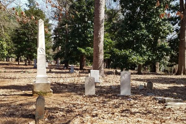 Oberlin Cemetery Dunston Plot